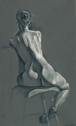 Female Figure, Back by Nina Stanley