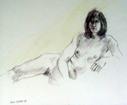 Model Study 22 by Normand Canter
