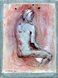 Nude 4 by Marguerite Holmes