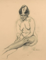 Seated Figure, by Stanley Phillips